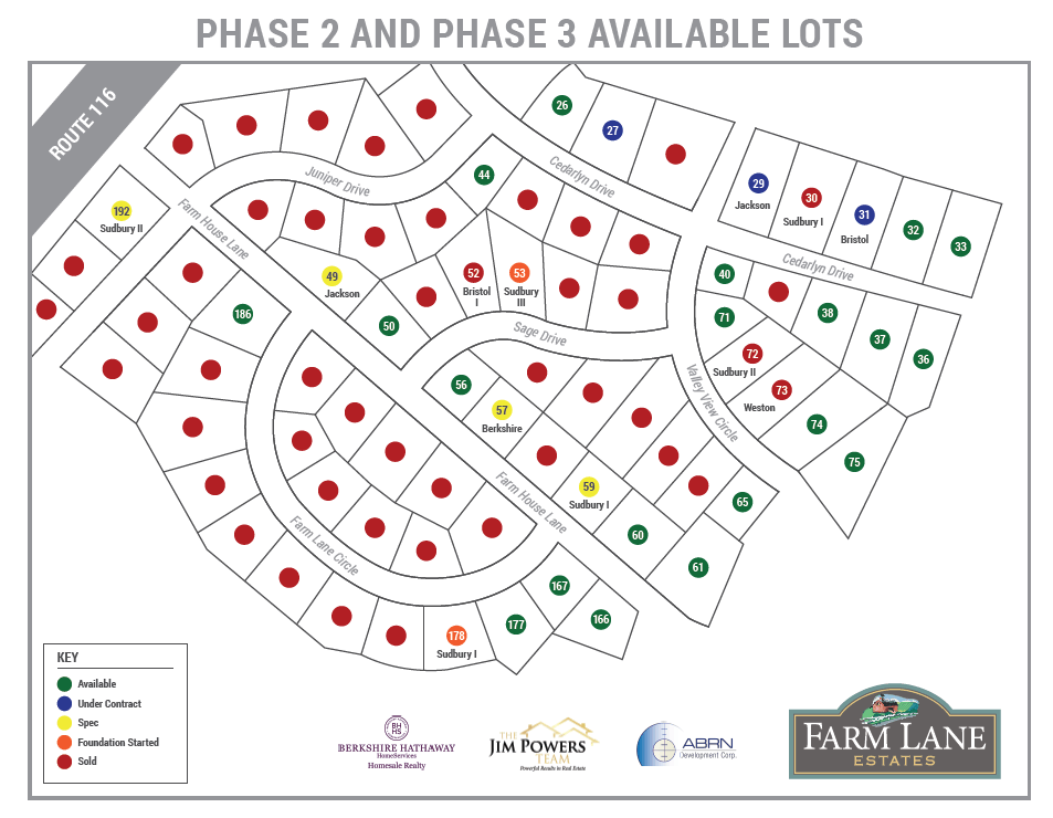 Lot Map