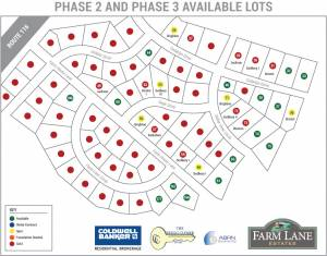 Farm Lane Plot Map